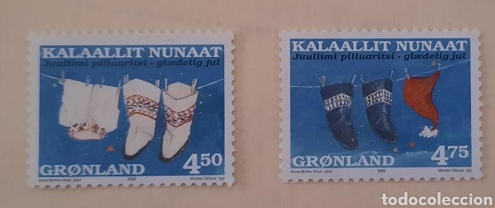 GROENLANDIA/GRONLAND/KALAALLIT NUNAAT-JUULLIMI PILLUARISTI-1998-SIN CIRCULAR (Sellos - Extranjero - Europa - Dinamarca)