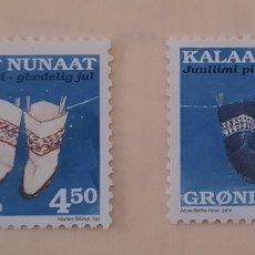 Sellos: GROENLANDIA/GRONLAND/KALAALLIT NUNAAT-JUULLIMI PILLUARISTI-1998-SIN CIRCULAR. Lote 244558385