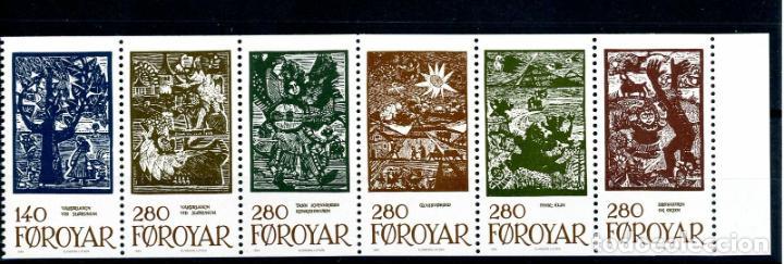 FEROE 1984 IVERT 100/5 *** CUENTOS DE HADAS - LEYENDAS - DIBUJOS (Sellos - Extranjero - Europa - Dinamarca)