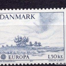 Sellos: DINAMARCA, 1977 , MICHEL 640. Lote 245287605