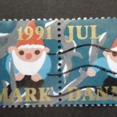 Sellos: DINAMARCA 1991.. Lote 246020390