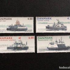 Sellos: DINAMARCA Nº YVERT 1294/7*** AÑO 2001. BARCOS. FERRYS DE LAS ISLAS. Lote 246189000