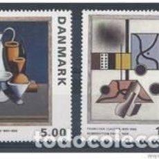 Sellos: SELLOS USADOS DE DINAMARCA 1993, YT 1071/ 72. Lote 251088400
