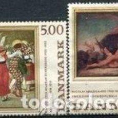 Sellos: SELLOS USADOS DE DINAMARCA 1985, YT 822/ 23. Lote 251610260