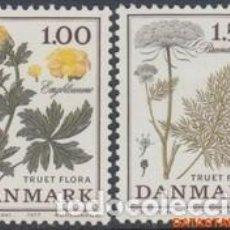 Sellos: SELLOS USADOS DE DINAMARCA 1977, YT 654/ 55. Lote 254224380
