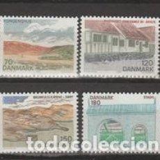 Sellos: SELLOS USADOS DE DINAMARCA 1978, YT 665/ 68. Lote 254232400
