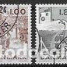 Sellos: SELLOS USADOS DE DINAMARCA 1978, YT 669/ 72. Lote 254232745