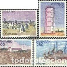 Sellos: SELLOS USADOS DE DINAMARCA 1980, YT 707/ 10. Lote 254955100