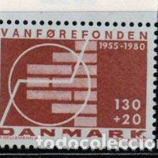 Sellos: SELLO USADO DE DINAMARCA 1980, YT 699. Lote 254956075
