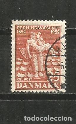 DINAMARCA YVERT NUM. 344 USADO (Sellos - Extranjero - Europa - Dinamarca)
