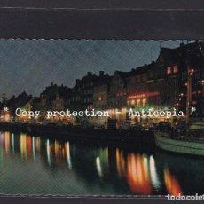 Sellos: POSTAL DE DINAMARCA - COPENHAGEN - THE NYHAVN QUARTER. Lote 261926285