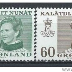 Sellos: SELLOS NUEVOS DE GROENLANDIA 1973, YT 72/ 73. Lote 262566250