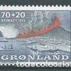 Sellos: SELLO NUEVO DE GROENLANDIA 1973, YT 74. Lote 262566525