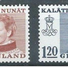 Sellos: SELLOS NUEVOS DE GROENLANDIA 1974, YT 78/ 79. Lote 262567500