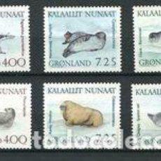 Sellos: SELLOS NUEVOS DE GROENLANDIA 1991, YT 199/ 204. Lote 262567830