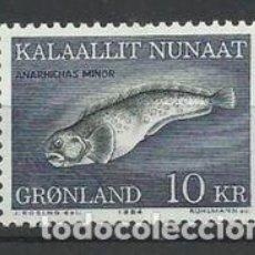 Sellos: SELLO NUEVO DE GROENLANDIA 1984, YT 142. Lote 262728860