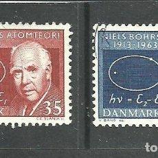 Sellos: DINAMARCA 1963 - YVERT NRO. 429-30 - USADO -. Lote 268775104