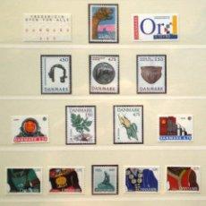 Sellos: DINAMARCA - 20 SELLOS NUEVOS * * DE LOS AÑOS 1990 A 1993. Lote 268870014