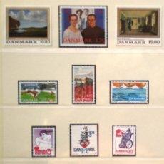 Sellos: DINAMARCA - 13 SELLOS NUEVOS * * DE LOS AÑOS 1992 A 1994. Lote 268870229