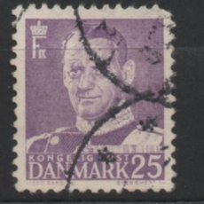 Sellos: DINAMARCA 1955 REY FEDERICO IX USADO * LEER DESCRIPCION. Lote 270344998
