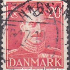 Sellos: 1943 - DINAMARCA - REY CHRISTIAN X - YVERT 284. Lote 277179008