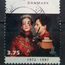 Selos: DINAMARCA 1997 FAMILIA REAL SELLO USADO. Lote 287811413