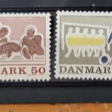 Sellos: DINAMARCA,1971.. Lote 293281628