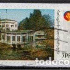Sellos: SELLO DE DISTRIBUCION USADO DE DINAMARCA 2009, YT 40, FOTO ORIGINAL. Lote 293579918