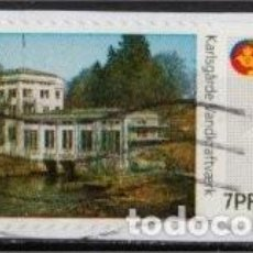 Sellos: SELLO DE DISTRIBUCION USADO DE DINAMARCA 2009, YT 40. Lote 293581903