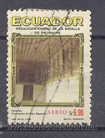 ECUADOR- 1972- USADO (Sellos - Extranjero - América - Ecuador)