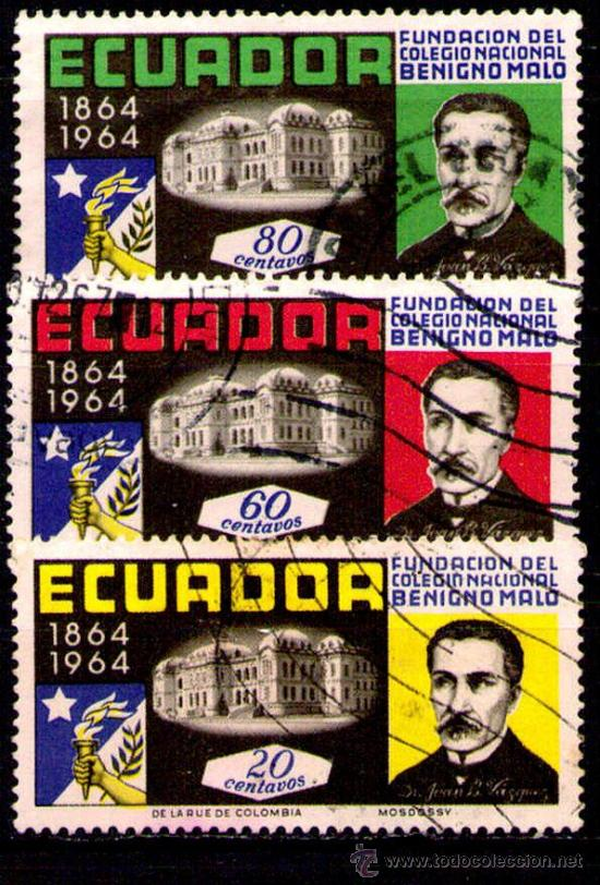 LOTE SELLOS ECUADOR /PERSONAJES CELEBRES/MANDATARIOS/PRESIDENTES (AHORRA COMPRANDO MAS SELLOS (Sellos - Extranjero - América - Ecuador)