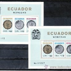 Sellos: ECUADOR HB 23/A SIN DENTAR SIN CHARNELA, MONEDAS,. Lote 25088868