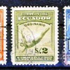 Sellos: ECUADOR.- PRIMERA OLIMPIADA BOLIVARIANA: 1938.-. Lote 30651875