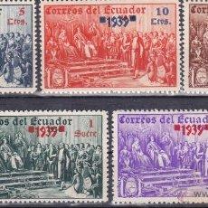 Sellos: ECUADOR 1939. Lote 137424542