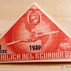 Sellos: SELLOS ECUADOR 1939. NUEVO. NO PERFORADO.. Lote 47613599