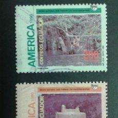 Sellos: SELLOS DE ECUADOR. AMÉRICA UPAEP. YVERT 1230/1. SERIE COMPLETA USADA.. Lote 53277765