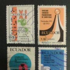 Sellos: SELLOS DE ECUADOR. YVERT A 534/7. SERIE COMPLETA USADA.. Lote 53277840