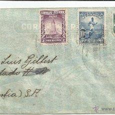 Sellos: ECUADOR - CORREO AEREO 1940 HISTORIA POSTAL CARTA VOLADA DESDE ECUADOR A COLOMBIA. Lote 53321232
