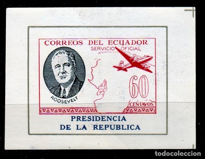 ECUADOR. SERVICIO OFICIAL. AEREO.PRESIDENCIA DE LA REPUBLICA. **MNH(17-256) (Sellos - Extranjero - América - Ecuador)