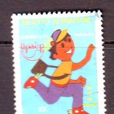 Sellos: ECUADOR.AÑO 1997.UPAEP.EL CARTERO A.. Lote 171995718