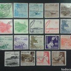 Briefmarken - SELLOS DE ECUADOR. YVERT 594/604A. FALTA EL 601A. SERIE CORTA USADA. - 68962846