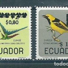 Sellos: ECUADOR Nº 1357/8 (MICHEL). AÑO 1967.. Lote 75532099