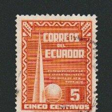 Sellos: ECUADOR.1939.-.5 CENT.USADO.. Lote 76528415