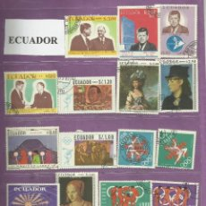 Sellos: COLECCIÓN DE SELLOS DE ECUADOR. Lote 103325995