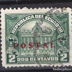 Sellos: ECUADOR - SELLO USADO SOBREIMPRESO. Lote 124144247