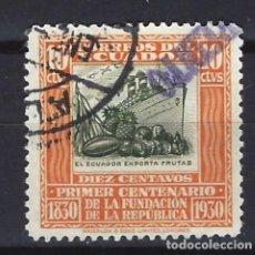 Sellos: ECUADOR - SELLO USADO . Lote 124144319