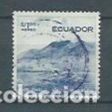 Sellos: ECUADOR,PAISAJES,1955,USADO,YVERT 286. Lote 125248395