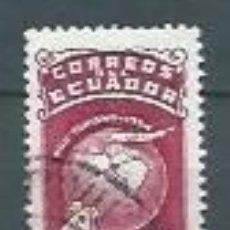 Sellos: ECUADOR,TURISMO,1954,USADO,YVERT 590. Lote 125248407