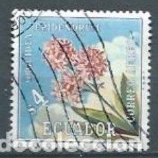 Sellos: ECUADOR,FLORES,1972,YVERT 560. Lote 126838098