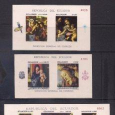 Sellos: ECUADOR 1967 - PINTURAS RELIGIOSAS DE PINTORES CLASICOS - NAVIDAD - . Lote 137450598